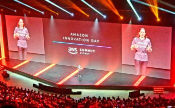 A Full house at AWS Innovation Day 2019 in Sydney